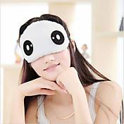 마스크 차광판 귀여운 팬더 얼굴 눈 여행 수면