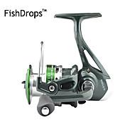 Carrete de la pesca Carretes para pesca spinning 5.2:1 Relación de transmisión+7 Rodamientos de bolas Orientación de las manos
