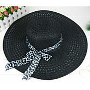 Mujer Cestería Celada-Ocasión especial Casual Al Aire Libre Sombreros 1 Pieza