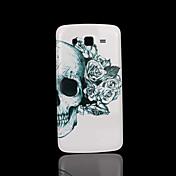 Etui Til Samsung Galaxy Samsung Galaxy Etui Mønster Bakdeksel Hodeskaller PC til Grand 2