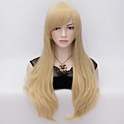 Syntetiske parykker Rett Naturlig rett tetthet Dame Veldig lang Syntetisk hår