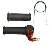 bicicleta motorizada apretones manillar cable del acelerador de mini moto de bolsillo ajustado 33 49cc