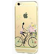 용 아이폰5케이스 투명 패턴 케이스 뒷면 커버 케이스 섹시 레이디 소프트 TPU 용 iPhone SE/5s iPhone 5