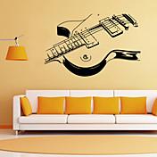 Romantik Mote Former Tegneserie Musikk Veggklistremerker Fly vægklistermærker Dekorative Mur Klistermærker, PVC Hjem Dekor