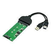 """usb 3.0 til SATA 2,5 """"harddisk til M.2 ngff pci-e 2 kjørefelt ssd for e431 e531 x240 y410p y510"""