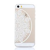 용 아이폰5케이스 울트라 씬 / 투명 / 패턴 케이스 뒷면 커버 케이스 만다라 하드 PC iPhone SE/5s/5