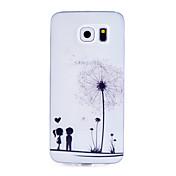 Para Funda Samsung Galaxy Diseños Funda Cubierta Trasera Funda Atrapasueños TPU Samsung S6 / S5 Mini / S5 / S4 Mini / S4 / S3