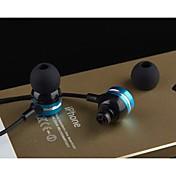 En el oido Con Cable Auriculares El plastico Teléfono Móvil Auricular Auriculares