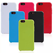 Para Funda iPhone 6 / Funda iPhone 6 Plus Other Funda Cubierta Trasera Funda Un Color Suave TPU iPhone 6s Plus/6 Plus / iPhone 6s/6