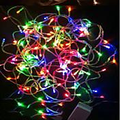 18m Tiras LED Flexibles 180 LED Diodo LED RGB Impermeable / Color variable 220 V / IP44