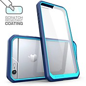Para Funda iPhone 6 Funda iPhone 6 Plus Carcasa Funda Antigolpes Transparente Cubierta Trasera Funda Color sólido Suave TPU paraiPhone 6s