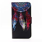Para Funda Samsung Galaxy Soporte de Coche / con Soporte / Flip / Diseños / Magnética Funda Cuerpo Entero Funda AtrapasueñosCuero