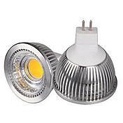 HRY 3000/6500 lm GU5.3(MR16) LED-spotpærer MR16 1 leds COB Dekorativ Varm hvit Kjølig hvit DC 12 V