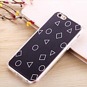 Etui Til Apple iPhone 6 iPhone 6 Plus Belegg Mønster Bakdeksel Geometrisk mønster Myk TPU til iPhone 6s Plus iPhone 6s iPhone 6 Plus