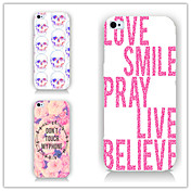 Funda Para Apple iPhone 6 iPhone 6 Plus Diseños Funda Trasera Palabra / Frase Dura ordenador personal para iPhone 6s Plus iPhone 6s
