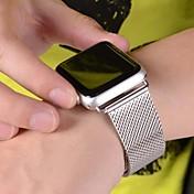 Ver Banda para Apple Watch Series 3 / 2 / 1 Apple Correa Milanesa Acero Inoxidable Correa de Muñeca