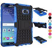Para Funda Samsung Galaxy Antigolpes / con Soporte Funda Cubierta Trasera Funda Armadura Policarbonato SamsungS6 edge plus / S6 edge / S6