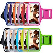 Etui Til iPhone 7 Plus iPhone 7 iPhone 6s Plus iPhone 6 Plus iPhone-6s iPhone 6 Universell med vindu Armband Armbånd Helfarge Myk tekstil