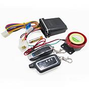 moto scooter de 2 vías de alarma sensor de vibración del mando a distancia del sistema de seguridad 125dB altavoz de alarma antirrobo
