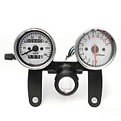 odómetro motocicleta velocímetro tacómetro con soporte negro