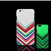 용 아이폰6케이스 / 아이폰6플러스 케이스 야광 / 패턴 케이스 뒷면 커버 케이스 라인 / 웨이브 하드 PC iPhone 6s Plus/6 Plus / iPhone 6s/6