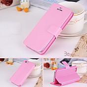 Etui Til iPhone 4/4S Apple Heldekkende etui Hard PU Leather til iPhone 4s / 4