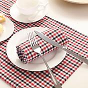100% algodón servilleta mesa de comedor / decoración del banquete de boda / banquete de boda cena / favor de la decoración /