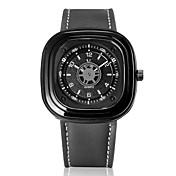 V6 Hombre Reloj de Pulsera Cuarzo Gran venta Piel Banda Analógico Encanto Negro / Verde / Gris - Negro Gris Verde