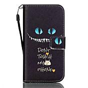 Para Samsung Galaxy S7 Edge Cartera / Soporte de Coche / con Soporte / Flip Funda Cuerpo Entero Funda Gato Cuero Sintético SamsungS7 edge