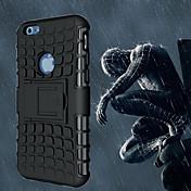 Funda Para Apple iPhone 6 iPhone 6 Plus Antigolpes con Soporte Funda Trasera Armadura Suave ordenador personal para iPhone 6s Plus iPhone