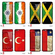 1 stk Heldekkende beskyttelse til Flagg iPhone 6s/6