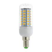 700 lm E14 G9 GU10 E26/E27 E26 E12 B22 LED-kornpærer T 56 leds SMD 5730 Varm hvit Kjølig hvit AC 85-265V