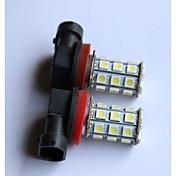 H8 / 9006 / 9005 Coche Bombillas 2.5W SMD LED / SMD 5050 200lm 2 Luz Antiniebla