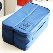 Neceser de viaje Organizador para viaje Portátil Múltiples Funciones Almacenamiento para Viaje para Ropa Interior Ropa Calcetines