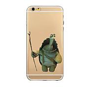 Para Funda iPhone 6 Funda iPhone 6 Plus Carcasa Funda Transparente Diseños Cubierta Trasera Funda Dibujos Suave TPU paraiPhone 6s Plus