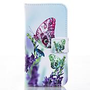 Para Funda iPhone 6 / Funda iPhone 6 Plus Soporte de Coche / con Soporte Funda Cuerpo Entero Funda Mariposa Dura Cuero SintéticoiPhone 6s