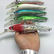 1 stk Sluk Elritse Oppspennere Hard Lokkemat Hard Plastikk Ståltråd Søfisking Agn Kasting Vippefiskeri Trolling- & Båtfiskeri