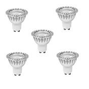 3W GU10 Focos LED MR16 1 leds COB Regulable Blanco Cálido Blanco Fresco 280-350lm 3000K AC 100-240V