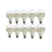 YouOKLight 10pcs 900lm E26 / E27 LED-globepærer A80 18 LED perler SMD 5630 Dekorativ Varm hvit Kjølig hvit 220-240V