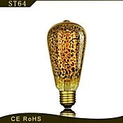 bofa st58 e27 lámpara decorativa retro de plata antigua de 25 vatios (85v-265v)