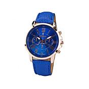Geneva Mujer Cuarzo Reloj de Pulsera Reloj Casual PU Banda Encanto / Moda Negro / Blanco / Azul / Morado