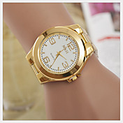 Mujer Reloj de Moda Cuarzo Reloj Casual Aleación Banda Dorado