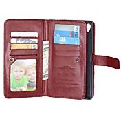Etui Til Sony Z5 Sony Xperia Z3 Sony Xperia M4 Aqua Sony Xperia Z5 Compact Annet Sony Xperia Z5 Xperia Z3 Etui Sony Kortholder Lommebok