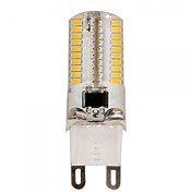 ywxlight® E14 / G9 / G4 / E17 / E12 / ba15d / e11 5.5w 80smd 3014 550-600lm varm / hvit ac110-130 / 220-240