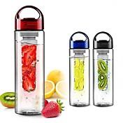 Frukt infuserende infuser shaker vannflaske kopp sitron jordbær juice lekkasje tumbler flaske kopp 700 ml