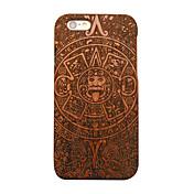 Para Funda iPhone 5 Carcasa Funda Diseños Cubierta Trasera Funda Fibra de Madera Dura Madera para Apple iPhone SE/5s iPhone 5
