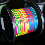 500M / 550 yardas Hilo trenzado PE / Dyneema Others / Multicolor120LB / 100LB / 80LB / 60LB / 50LB / 40LB / 30LB / 20LB / 15LB / 10LB /