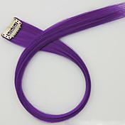 púrpura longitud de 60 cm de largo peluca sintética color del pelo recto (color 2411)
