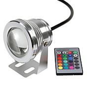 Luces Bajo el Agua Control remoto Impermeable Control Remoto RGB DC 12V