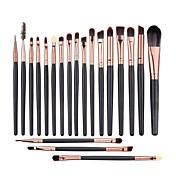 20pcs Pinceles de maquillaje Profesional Sistemas de cepillo / Cepillo para Colorete / Pincel para Sombra de Ojos Pincel de Pelo de Cabra